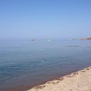 Der Strand von Evtalou